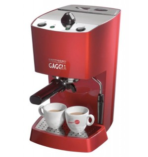Кофеварка Gaggia New Espresso Color red